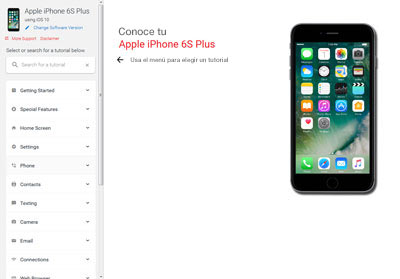 Como localizar un iphone 6s Plus apagado