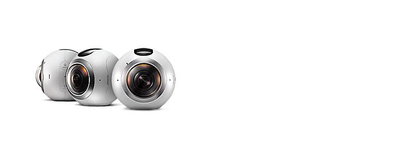 Samsung te permite crear imágenes en 360° con la cámara Gear 360