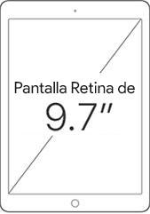 Pantalla Retina de 9.7 pulgadas