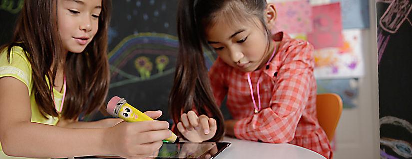 Ayudan a los niños a aprovechar más sus tablets