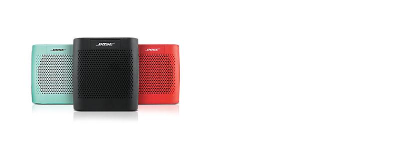 Destacado: Altavoz Bluetooth® Bose® Sound Link® Color y mophie powerstation 3X