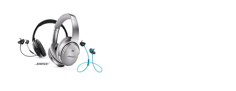 Experience the power of Bose premier audio in Bluetooth wireless headphones
