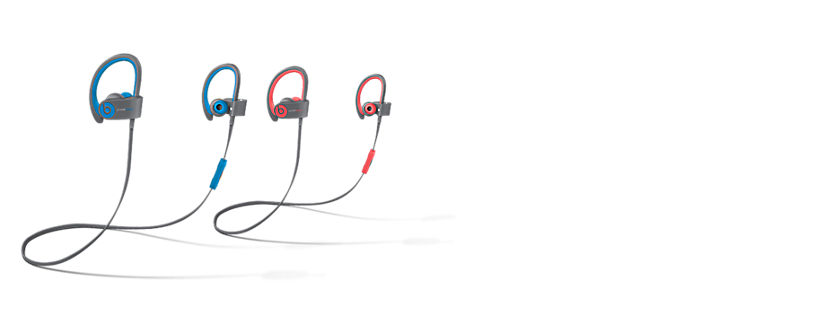Destacado: audífono intrauricular inalámbrico Powerbeats2