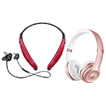La última colección de equipos de audio inalámbricos en Verizon