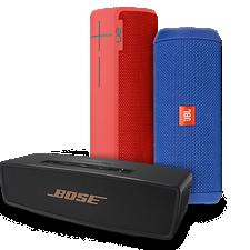 Accesorio destacado del mes de Verizon: poderosos altavoces Bluetooth®