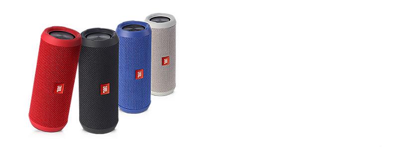 Accesorio destacado: altavoz Bluetooth® JBL® Flip 3 resistente a las salpicaduras