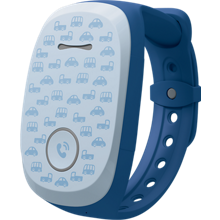 GizmoPal™ de LG en azul con calcomanías