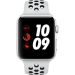 Reloj Apple® Watch Series 3 Nike+ con caja de aluminio de 42 mm y correa deportiva