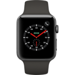 Apple® Watch Series 3, 42 mm, aluminio - correa deportiva