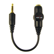 Adaptador de 3.5 mm: Convierte cualquier conector de 3.5mm a 2.5mm(hembra 3.5 a macho 2.5)