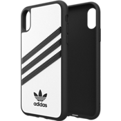 Carcasa con cierre a presión Originals Samba para el iPhone XR - Blanco/negro