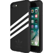 Carcasa de gamuza adidas Originals Gazelle para el iPhone 8/7/6s/6 - Negro/Blanco