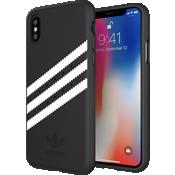 Carcasa de gamuza adidas Originals Gazelle para el iPhone X - Negro/Blanco