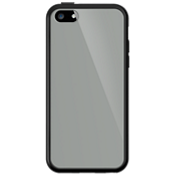 Cubierta transparente con borde negro para el Apple iPhone 5c