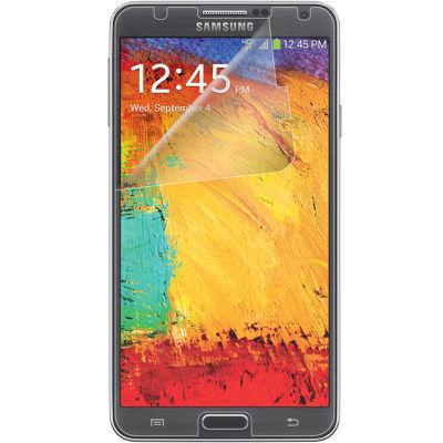Protectores de pantalla contra rayones Verizon (paquete de 3) conpaño para limpiar la pantalla para Samsung Galaxy Note 3