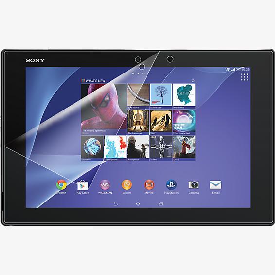 Protector de pantalla contra rayones para el tablet Sony Xperia Z2