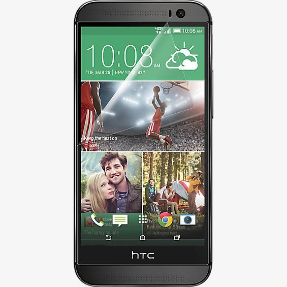 Protector de pantalla contra rayones para el HTC One (M8) completamente nuevo