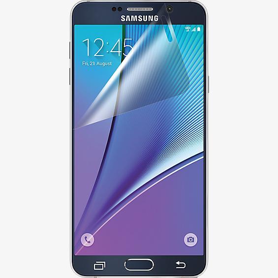 Protector de pantalla contra rayones para Samsung Galaxy Note 5 - Paquete de 3