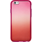 Estuche con diseño de teñido anudado para iPhone 6/6s - Rojo/Rosa