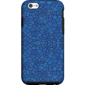 Estuche Milk and Honey con diseño de mosaicos en azul para iPhone 6/6s