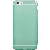Estuche de silicona brillante para iPhone 6/6s - Verde menta