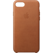 Estuche de piel para iPhone 7 - Saddle Brown