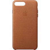 Estuche de piel para iPhone 7 Plus - Color Saddle Brown
