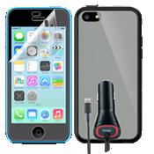 Paquete para viaje para Apple iPhone 5c - Transparente