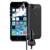 Paquete para viaje para Apple iPhone SE - Negro