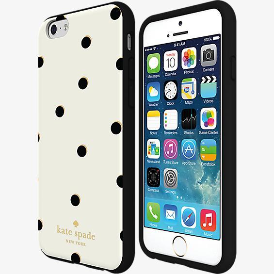 Estuche rígido flexible para iPhone 6 Plus/6s Plus - Lunares dispersos
