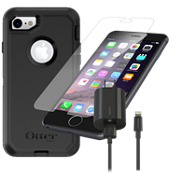 Paquete de estuche OtterBox Defender para iPhone 7