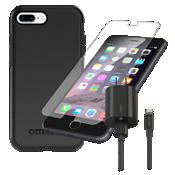 Paquete de estuche OtterBox Symmetry para iPhone 8 Plus/7 Plus/6s Plus/6 Plus - Negro
