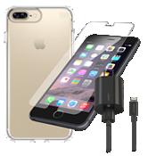 Paquete de estuche transparente Speck Presidio para iPhone 8 Plus/7 Plus/6s Plus/6 Plus