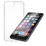 Paquete de protector Presidio Clear para iPhone 8 Plus