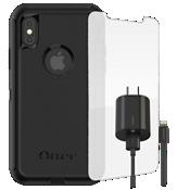 Paquete de estuche OtterBox Defender para iPhone X