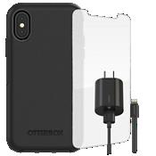 Paquete de estuche OtterBox Symmetry para iPhone X
