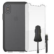 Paquete de estuche Tech21 Evo Check para iPhone X
