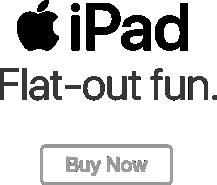 iPad: diversión a toda máquina. Cómpralo ahora.