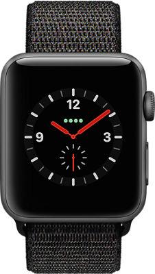 Reloj Apple® Watch Series 3, 42 mm, caja de aluminio con correa deportiva