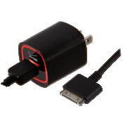 Cargador rápido de pared con cable de 6 pies para iPod, iPhone y iPad