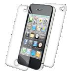 Protector de pantalla de cuerpo entero ZAGG, parte frontal y trasera, para el iPhone 4/4s