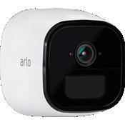 Cámara de seguridad móvil Arlo Go en blanco