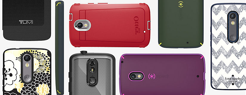 Accesorios indispensables para el DROID Turbo 2 y el DROID Maxx 2 de Motorola