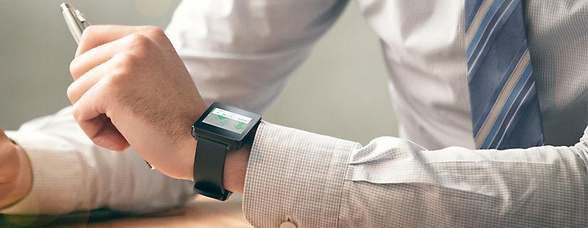 Deja que el LG G Watch simplifique tu vida