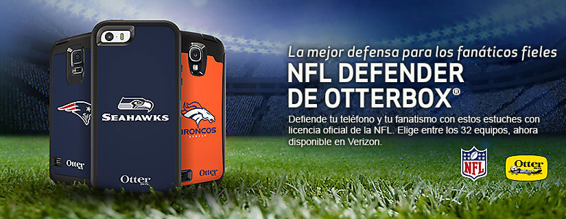 Muestra tu espíritu de equipo con un estuche NFL OtterBox Defender