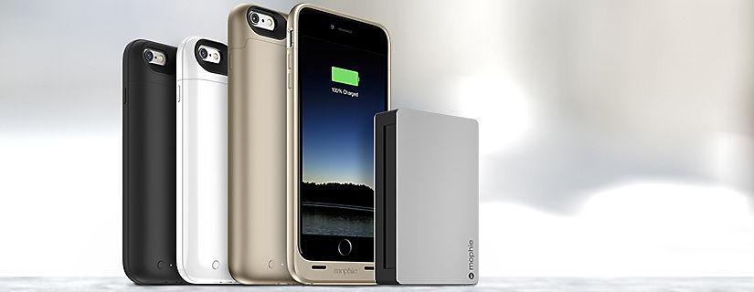 Cuando tu iPhone necesite cargarse, mophie te puede ayudar