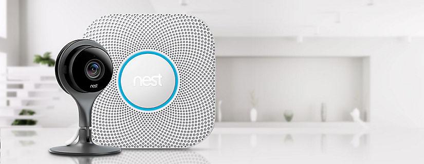 Mantente conectado con tu hogar con Nest Protect y Nest Cam