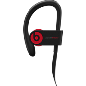 Audífonos inalámbricos Powerbeats3 - The Beats Decade Collection - Defiant Black/Rojo.