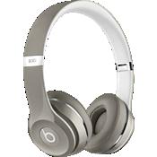 Audífonos para usar sobre la oreja Beats Solo2 - Edición de lujo - Plateado