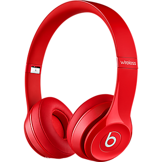 Auricular Beats Solo 2 Wireless - Rojo